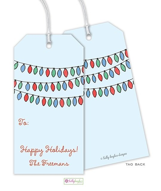 Bright Lights Gift Tag