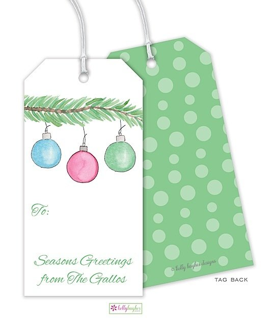 Trim The Tree Gift Tag