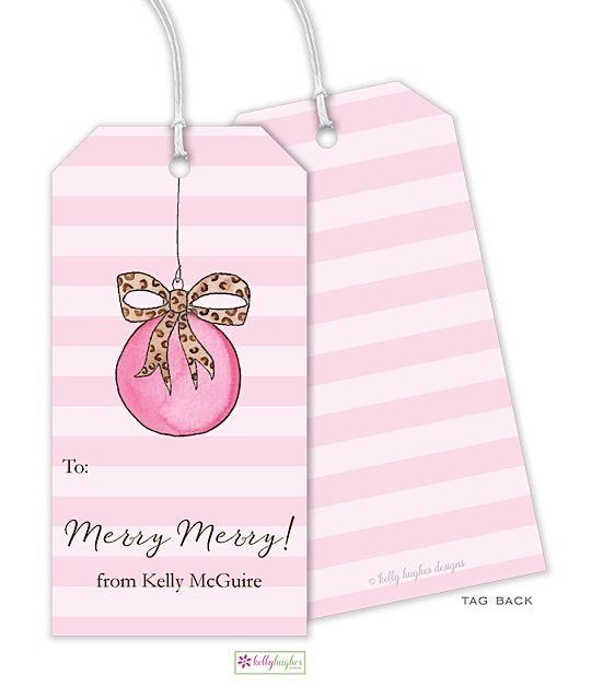 Wild Holiday Gift Tag