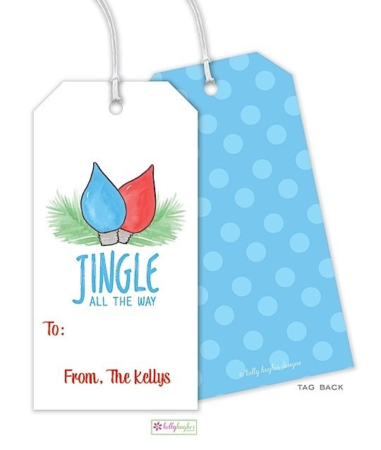 Jingle All The Way Gift Tag