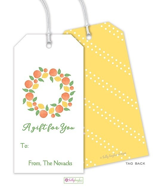 Winter Citrus Gift Tag