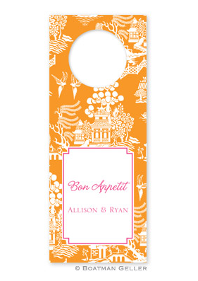 Chinoiserie Wine Tags