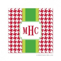 Alex Houndstooth Chocolate Coaster