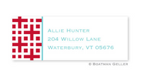 Lattice Address Label