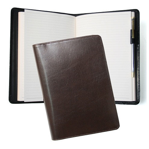 Monogrammed Leather Aristo Journal
