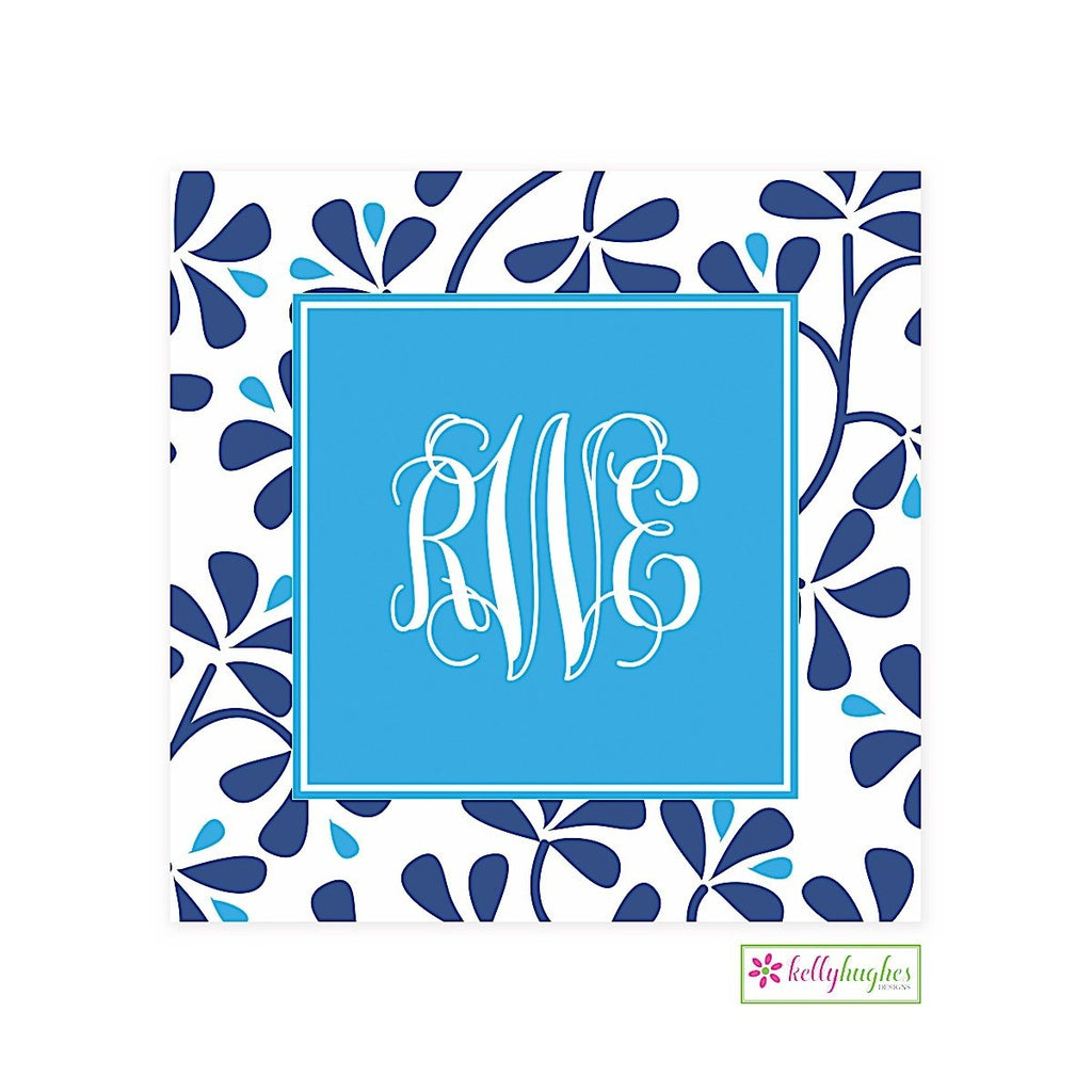 Blue China Modern Gift Sticker