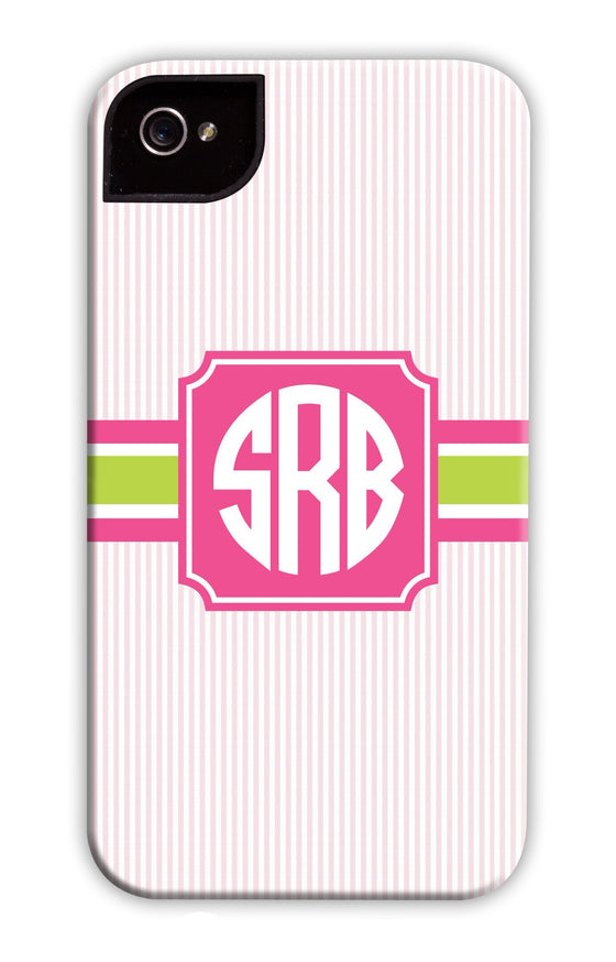 Pin Stripe Pink Phone Case