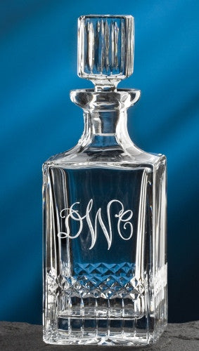 Engraved Exception Decanter