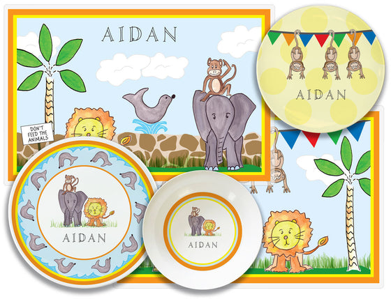 Zoo Friends Kid's Tabletop Set