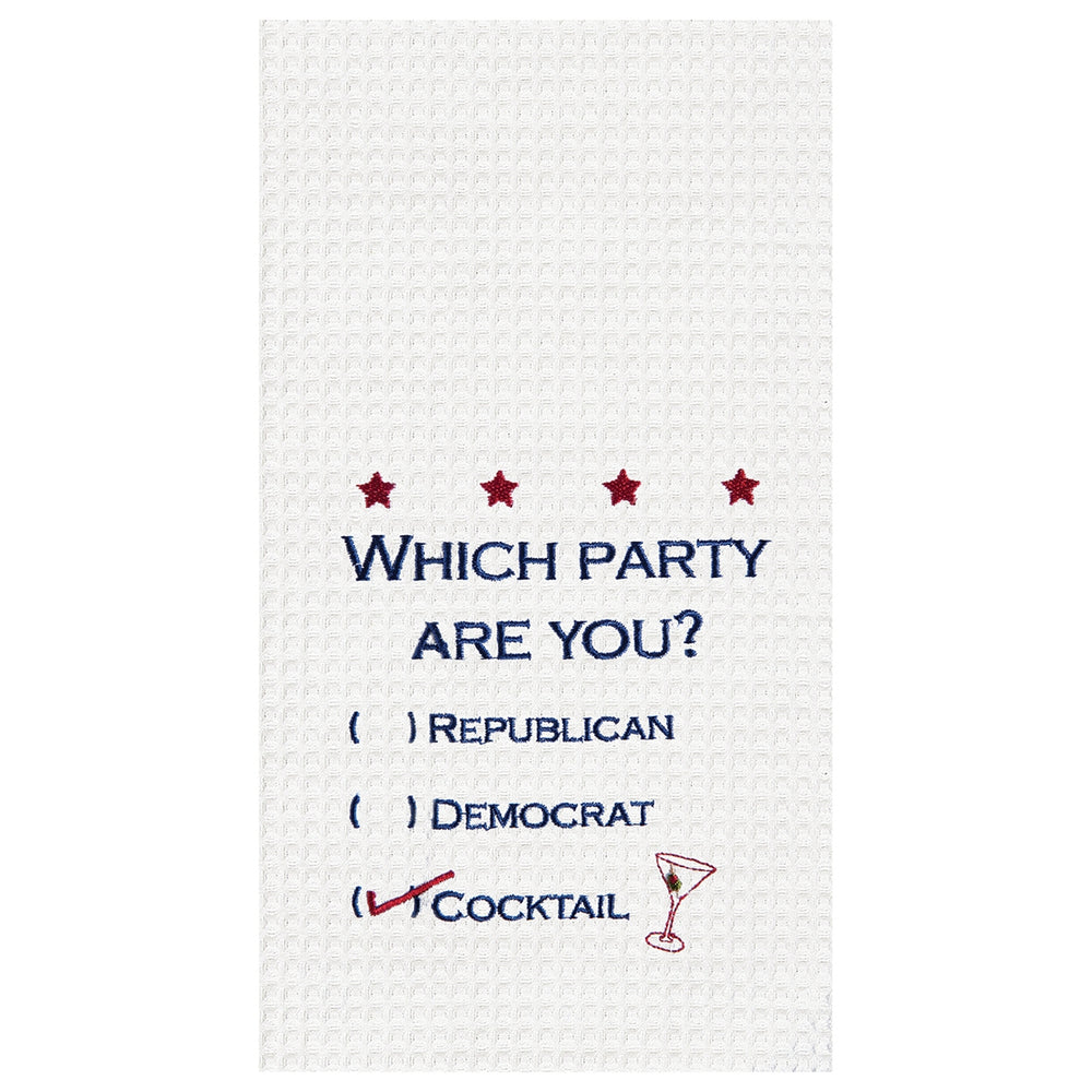 Which Party are You Towel?