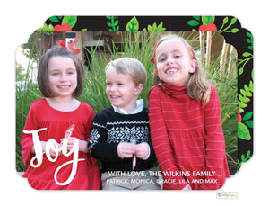 Holiday Flora Photo Card