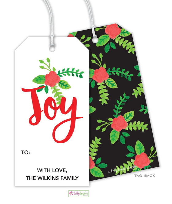 Holiday Flora Gift Tag