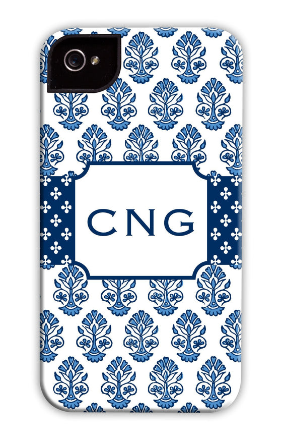 Beti Repeat Navy Phone Case