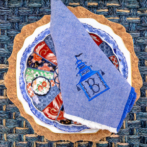 Sala Sala Blue Square Placemat