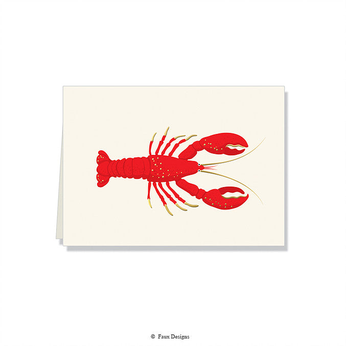 Lobster Folded Notes