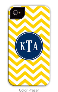 Chevron Yellow Phone Case