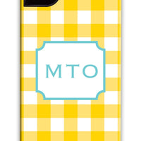 Classic Check Yellow Phone Case