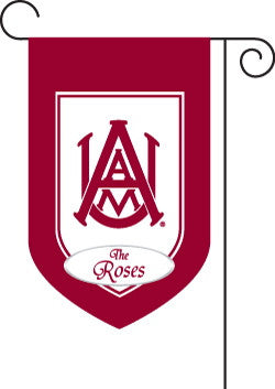 Monogrammed Alabama A&M Garden Flag