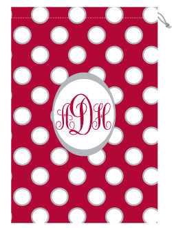 Monogrammed Alabama Laundry Bag for Her