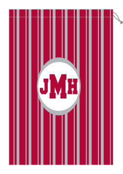 Monogrammed Alabama Laundry Bag for Him