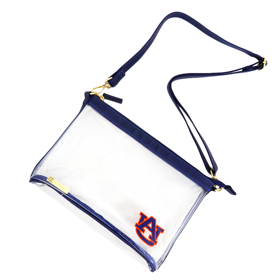 University Monogrammed Large Stadium Crossbody