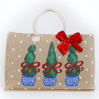 Tomtom Topiary Tote Bag