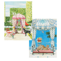 Animals and Garden Pavilions Box Notes