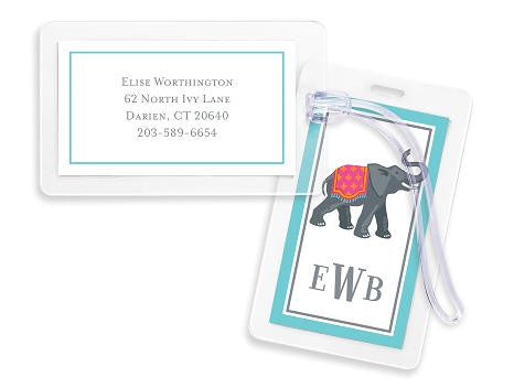 Elephant Bag Tags Set