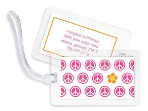 Peace Bag Tags Set