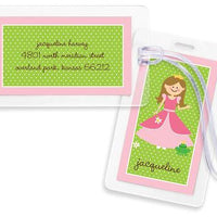 Princess Bag Tags Set