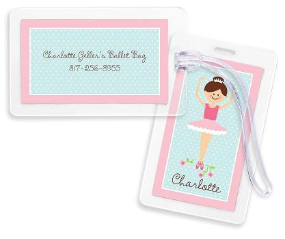 Ballerina Bag Tags Set