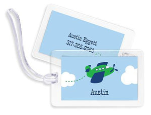 Airplane Bag Tags Set