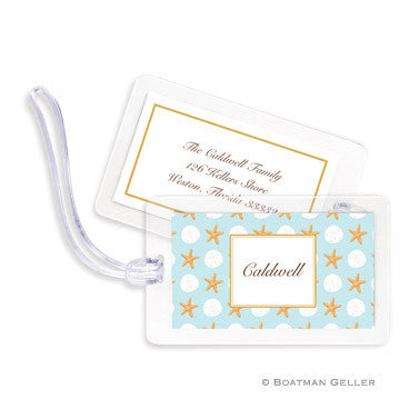Seashore Bag Tags Set