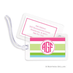 Espadrille Preppy Bag Tags Set