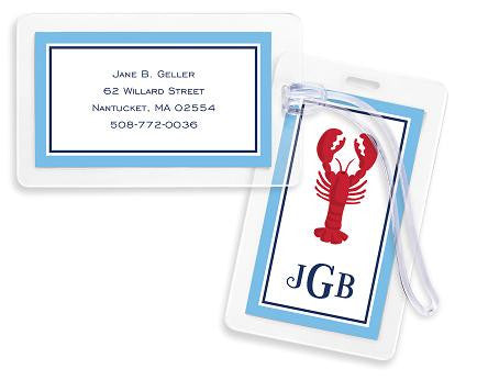 Lobster Bag Tags Set