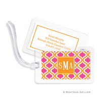 Kate Tangerine & Raspberry Bag Tags Set