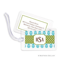 Beti Teal Bag Tags Set