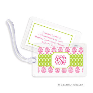 Beti Pink Bag Tags Set