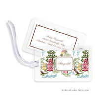 Chinoiserie Autumn Bag Tags Set