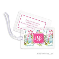 Chinoiserie Full Color Bag Tags Set