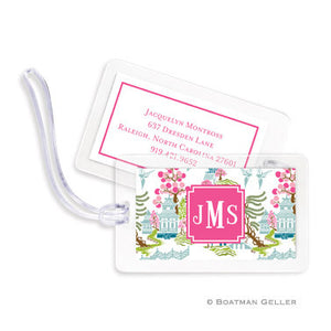 Chinoiserie Spring Bag Tags Set