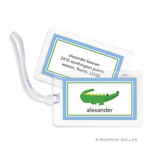 Alligator Bag Tags