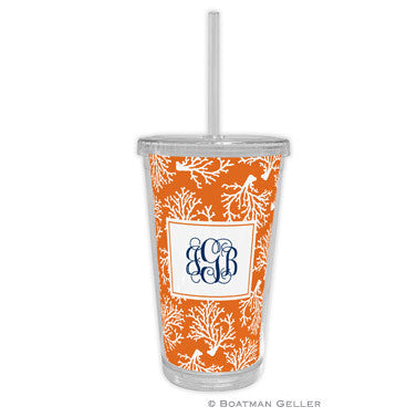 Coral Repeat Beverage Tumbler