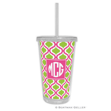 Kate Raspberry & Lime Beverage Tumbler