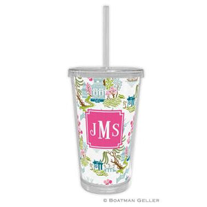 Chinoiserie (Full Color) Beverage Tumbler