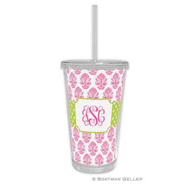 Betti Pink Beverage Tumbler