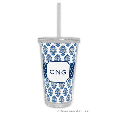 Betti Navy Beverage Tumbler