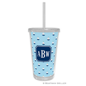 Little Sailboat Beverage Tumbler