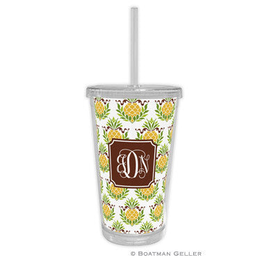 Pineapple Repeat Beverage Tumbler