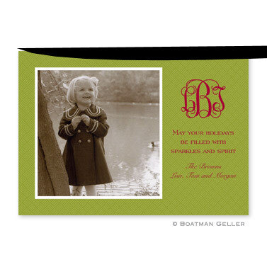 Basketweave Willow Photocard
